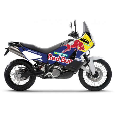Ktm 990 red bull for Deco 990 adventure